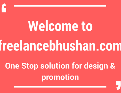 Welcome to freelancebhushan.com