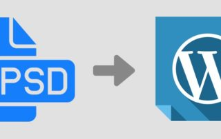 psd to wordpress conversion