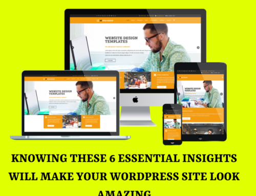 Knowing These 6 Essential Insights Will Make Your WordPress Site Look Amazing!
