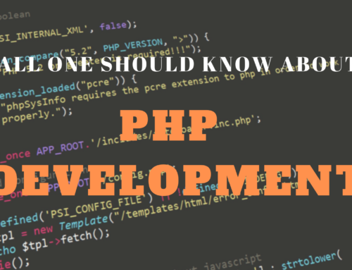 All one should know about PHP development!